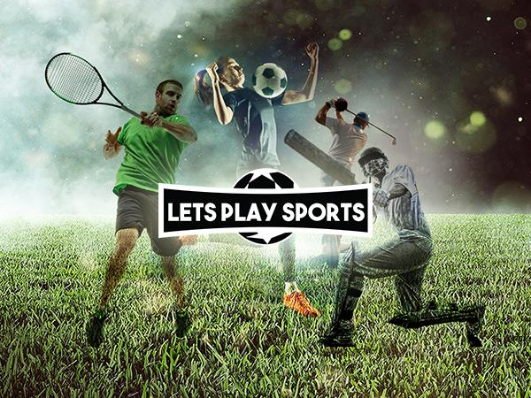 Lets Play Sports - Web Design