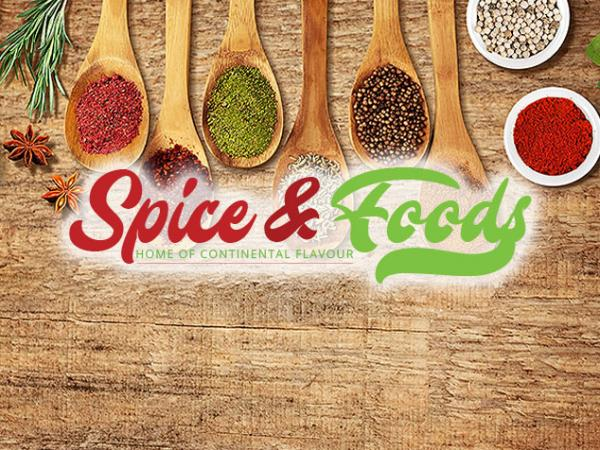 Client - Spice and Foods - Web Design